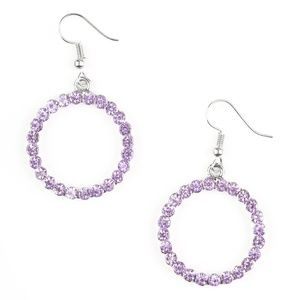 Bubblicious - Purple Earrings